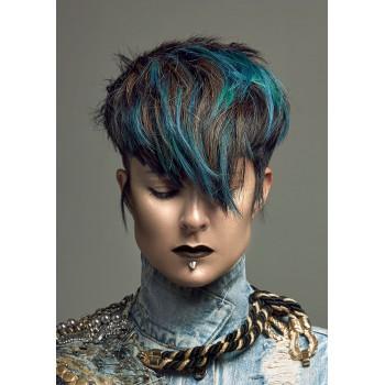 Бирюзовая краска для волос - Adore Dye - Aquamarine - для создания бирюзового цвета волос