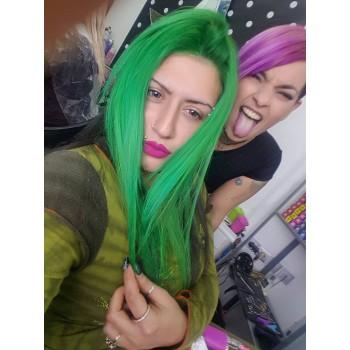 Краска для волос - Adore Dye - Electric Lime