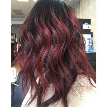 Коричнево красная краска для волос - Adore Dye - Rich Amber - для создания коричнево красного цвета волос