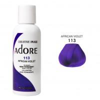Фиолетовая краска для волос - Adore Dye - African Violet - для создания фиолетового цвета волос