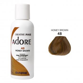 Коричневая краска для волос - Adore Dye - Honey Brown - для создания коричневого цвета волос